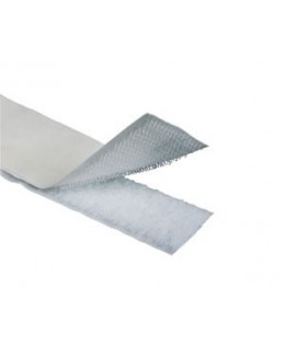 Velcro Blanco Adhesivo macho 25 mm*25 m
